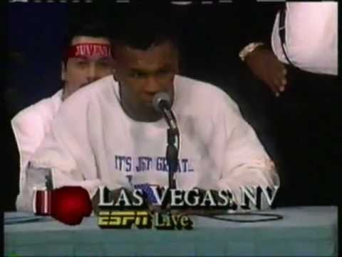 Mike Tyson Press Conference
