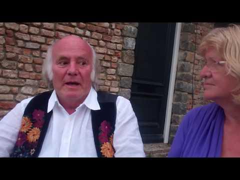Jos & Wilhelmien, gesprek voor de satsang