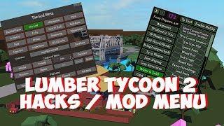 Roblox Lumber Tycoon 2 Hack/Glitch | Spawn Wood | Max Land | Speed Run