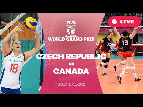 Czech Republic v Canada - Group 2: 2017 FIVB Volleyball World Grand Prix