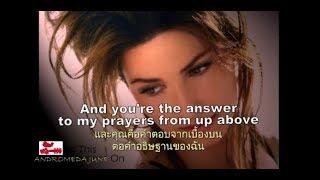 Baixar เพลงสากลแปลไทย From This Moment On - Shania Twain (Lyrics & Thai subtitle)