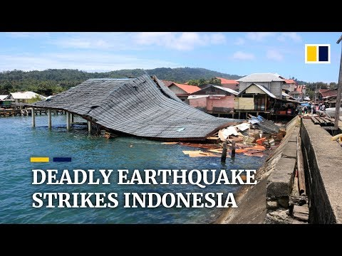 Earthquake kills at least 20 in eastern Indonesia, including an infant