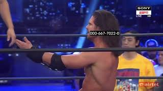 "Austin Aries flips out and no sells Johnny Impact's ""StarShip Pain"""