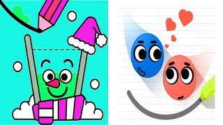 Love Balls Daily Challenge Vs Happy Glass - New Face New Pencil Level 181-210 - Gameplay Walkthrough