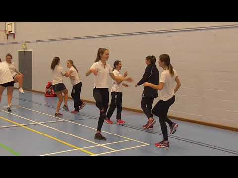 Mintridge Silver Netball Programme with Pamela Cookey, Gresham's School, January 2018