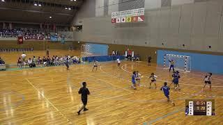 6日 ハンドボール女子 国体記念体育館Cコート 佼成学園女子×和歌山商業 2回戦 2