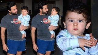 Taimur Ali Khan's CUTE Moments With Saif Ali Khan & Kareena Kapoor At House In Bandra