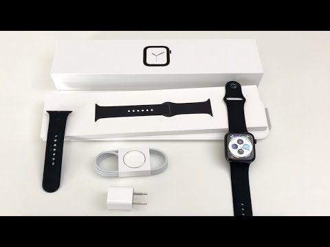 Apple Watch Series 4 Unboxing: Space Black! (Stainless Steel 44mm)