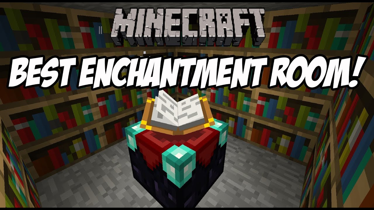 How To Make Minecraft Enchantment Room