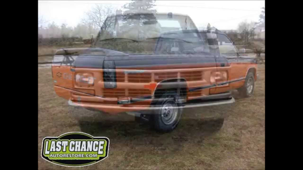 Custom Chevy 1500 Truck Harley Davidson Edition By Last Chance Auto Re