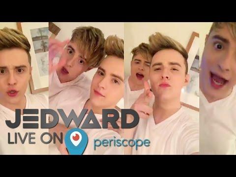 Jedward Live on Periscope