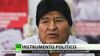 Experto: Perseguir a Evo Morales es abusar del derecho con fines políticos
