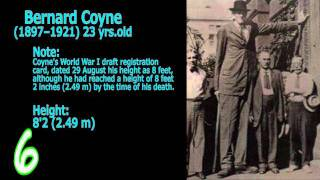 Top 10 Tallest People in the World 2011