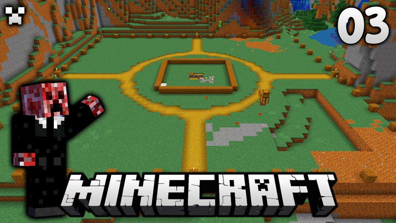 MEGA Base Planning!   Let's Play Minecraft Survival Ep.3