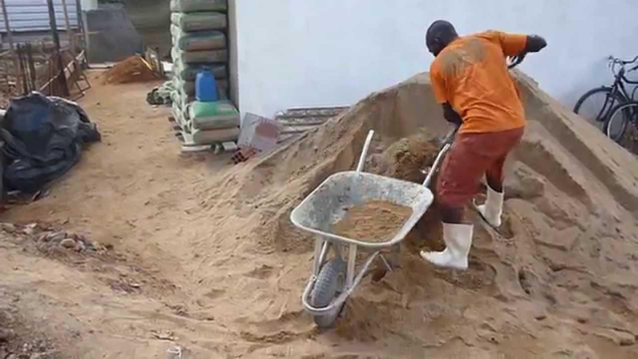 Miracema Enchendo Carrinho Com Areia Youtube
