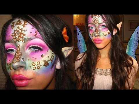 Zelda Fairy Inspired Makeup Halloween Tutorial How-To: Part 1 Eyes ...
