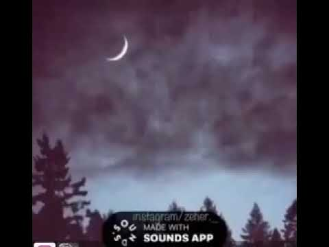 Bu gece yum gozlerini xeyalina gelim gedim (super sounds app)😋