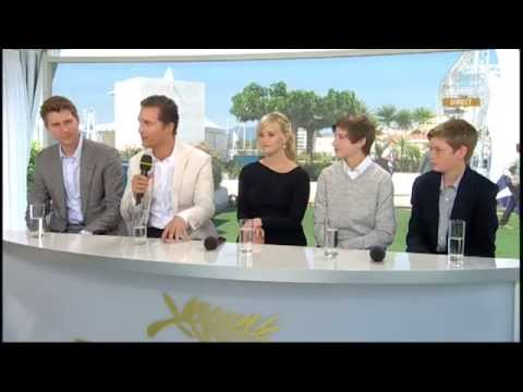 """Festival de Cannes - Interview of """"MUD"""" crew Reese Witherspoon, Matthew McConaughey"""