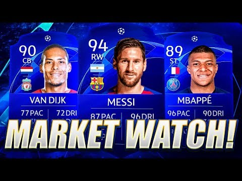 UCL PROMO PANIC!! MARKET WATCH! FIFA 20 Ultimate Team