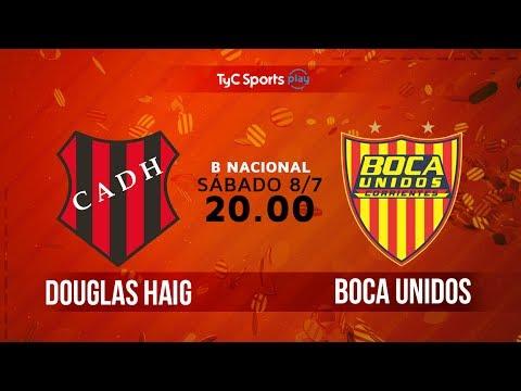 Primera B Nacional: Douglas Haig vs. Boca Unidos | #BNacionalenTyC