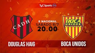 Douglas Haig vs Boca Unidos full match