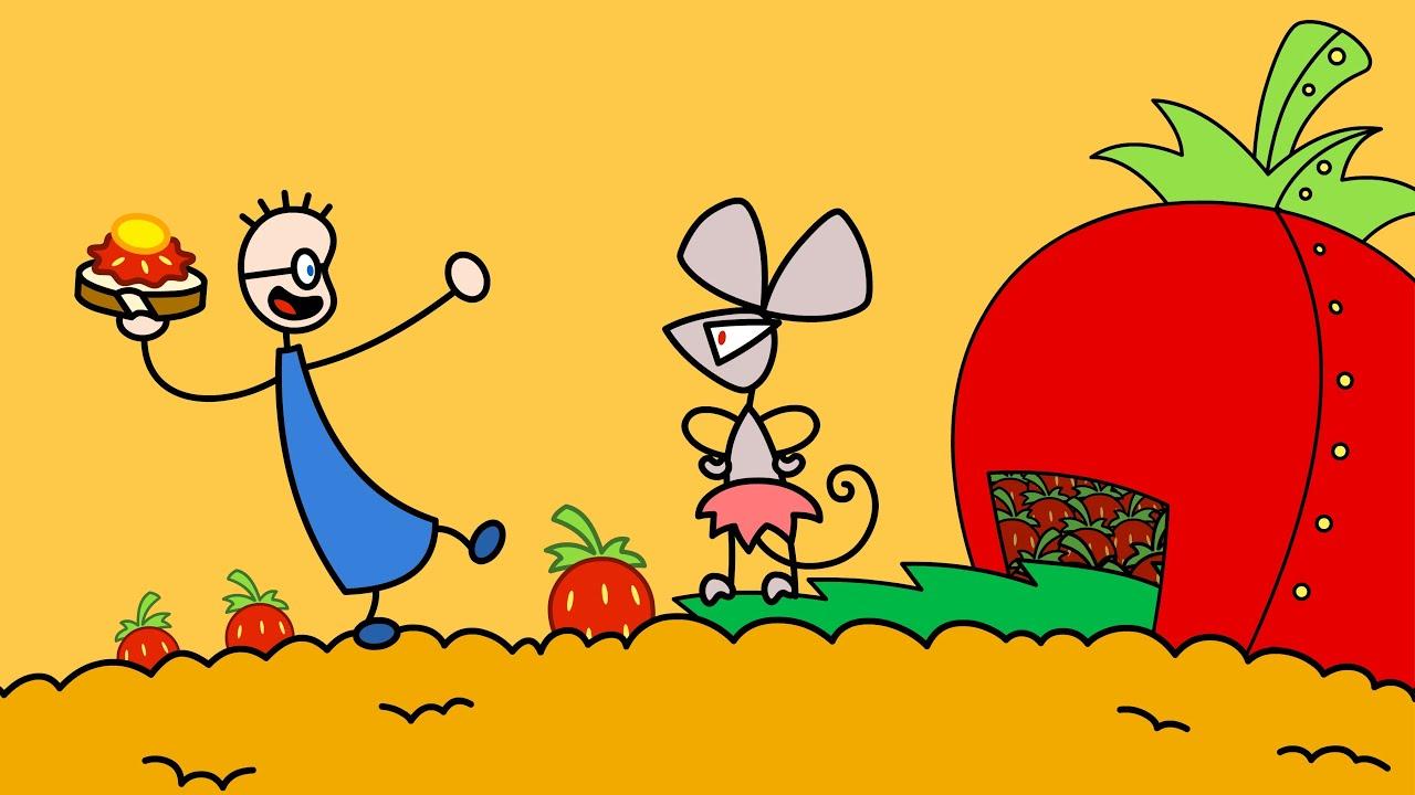 Tom Erdbeermarmeladebrot