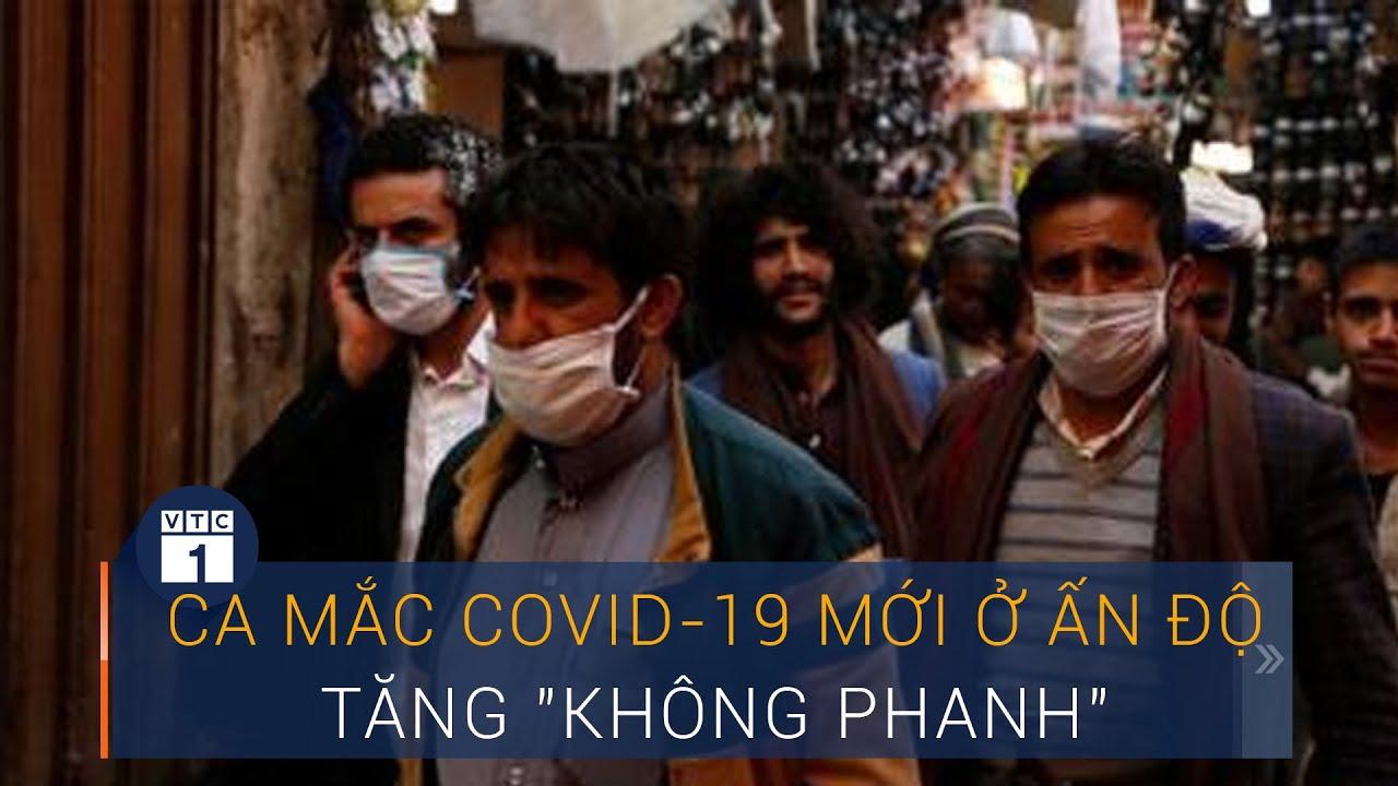 """Covid-19 thế giới sáng 16/7: Ca nhiễm virus Corona mới ở Ấn Độ tăng """"không phanh""""    VTC1"""