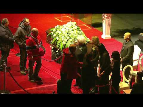 Jean Béliveau visitation at Bell Centre