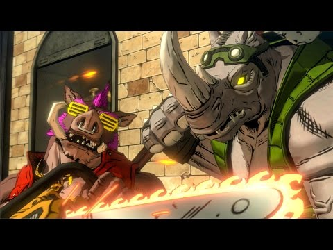 TMNT: Mutants in Manhattan All Boss Battles (Ninja Turtles) 1080p HD