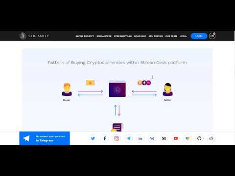 Streamity [STM] - Decentralized cryptocurrency exchange (ICO REVIEW)
