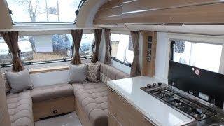 Adria Adora Loire 2014 touring caravan - show through, guide, review