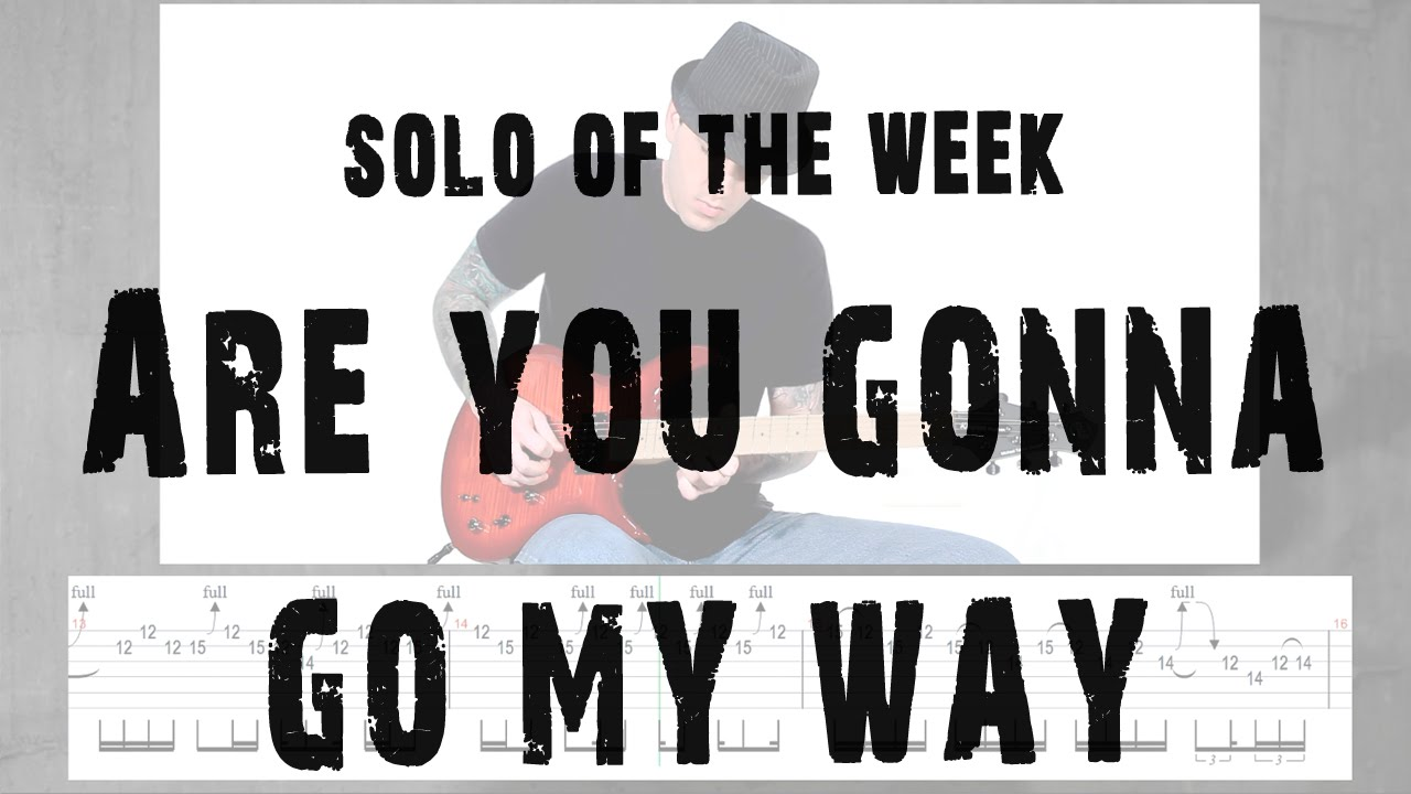 Solo Of The Week: 40 Lenny Kravitz - Are You Gonna Go My Way