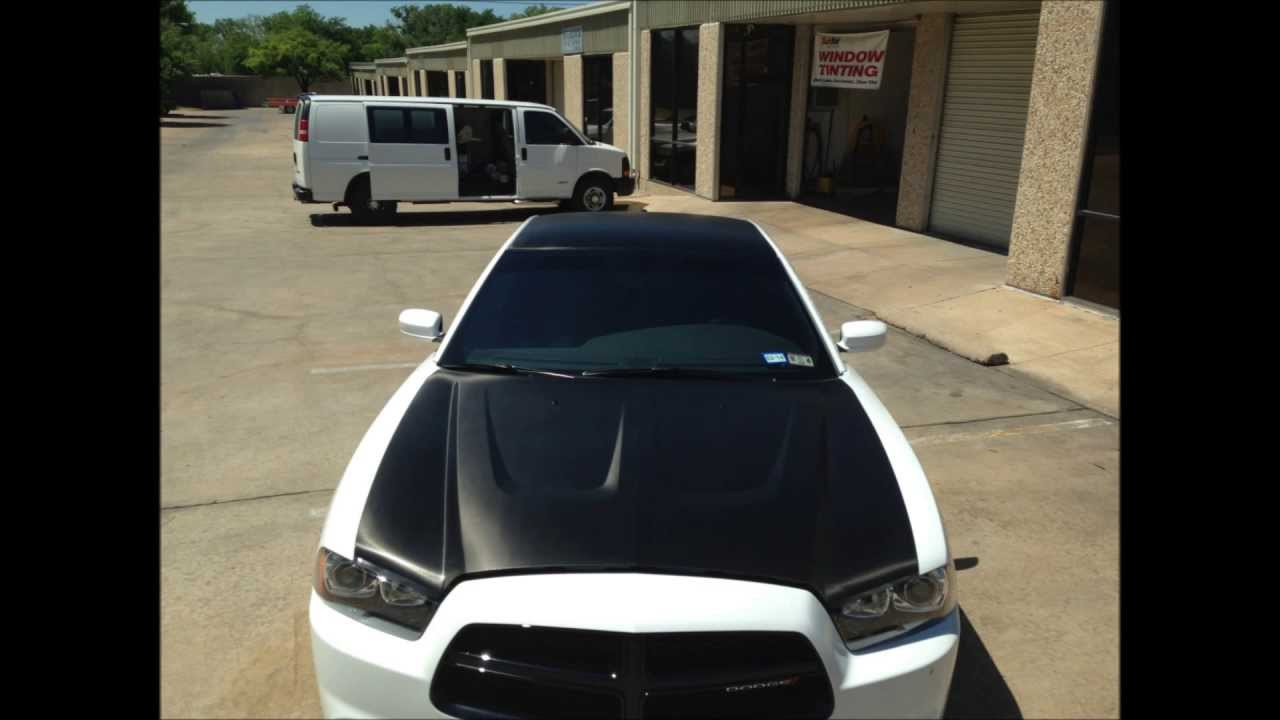 2013 Dodge Charger R T Carbon Fiber Wrap Youtube