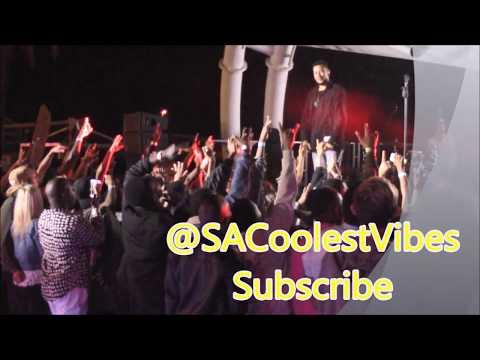 AKA ft Anatii -10 Fingers, Caiphus Song Live Performance @ShimmyBeach