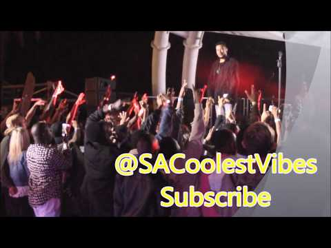 AKA ft Anatii -10 Fingers, Caiphus Song Live Performance @ShimmyBeach