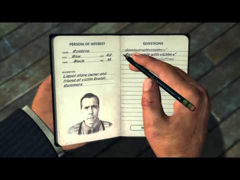 LA Noire - Homicide Desk Case 5 - 5 Star - The Studio Secretary Murder