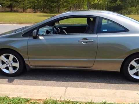 2007 Honda Civic Coupe 2dr Manual EX Coupe   Rock Hill, SC