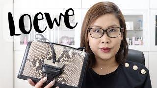 Loewe Barcelona手袋用後感分享🤔值唔值得買 + WIMB | 黑咪