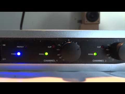 200 watt PA anlæg - blev solgt til 1.000 kr.