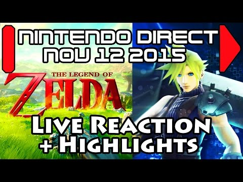 JustJesss Reacts & Highlights: Cloud in Smash! Twilight Princess HD!