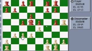 Chessmaster 3000 - PC DOS gameplay