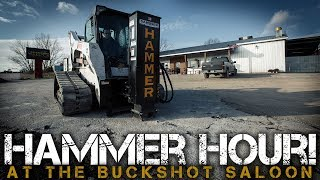 Video still for Asphalt & Concrete Removal Using a Skid Steer Attachment