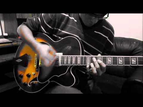 New Guitar: Ibanez AF-105 - Short Jazz Solo - Víctor Santiago