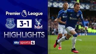 Bernard scores volley as Everton brush aside Palace | Everton 3-1 Crystal Palace | EPL Highlights