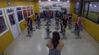 Сайкл-тренировка в фитнес-Клубе