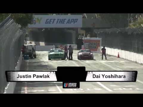 DAIJIRO YOSHIHARA Vs JUSTIN PAWLAK During FINAL 4 2012 Formula Drift Round 1 @ Long Beach California
