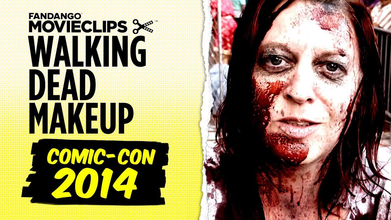 Comic-Con 2014 - Walking Dead Escape Zombie Makeup (2014) - Special FX Makeup HD