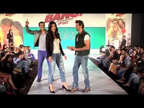 Hrithik Roshan Katrina Kaif At Bang Bang Pantaloons Collection Launch  Sec: Parties and events