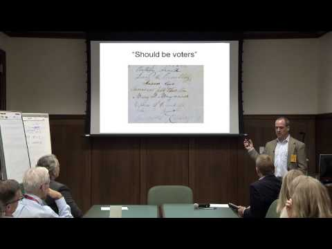 Research Possibilities with North American Petitions with Dan Carpenter