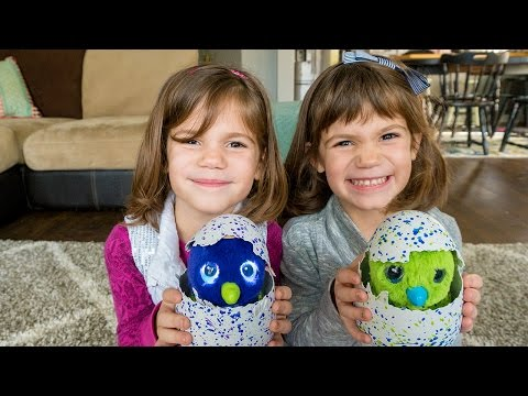 MAGIC DRAGONS!! Kate & Lilly Find Magic Eggs in the Park! | Hatchimals in Real Life!